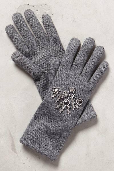 Bejeweled Gloves