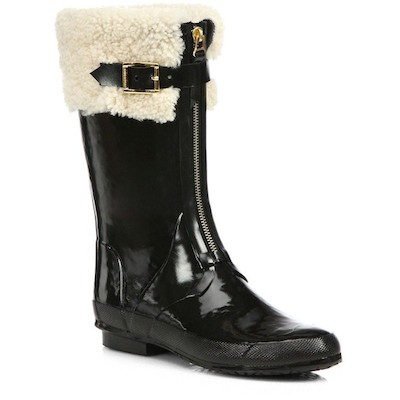 Shearling Lined Boots