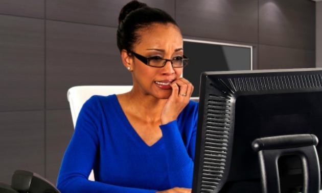 doubt-blackwoman-work