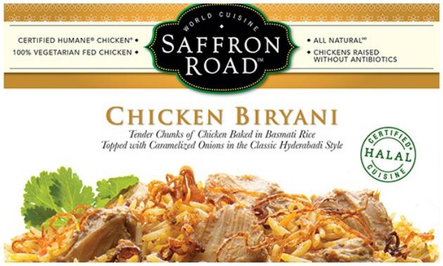 The Saffron Road Chicken Biryani