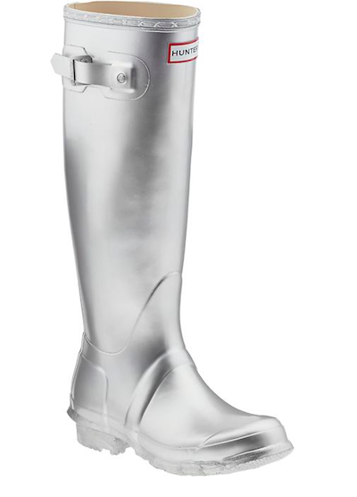 Metallic Rain Boots