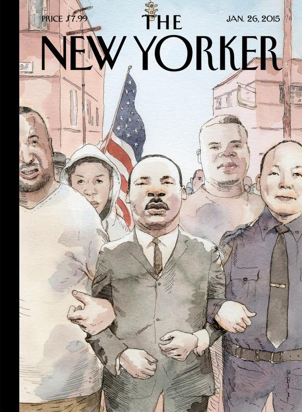 MLK-NewYorkerCover-EricGarner-TrayvonMartin-MichaelBrown-NYPDLiu