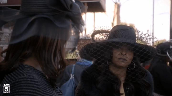When She Wore This Hat To Bunkie's Funeral