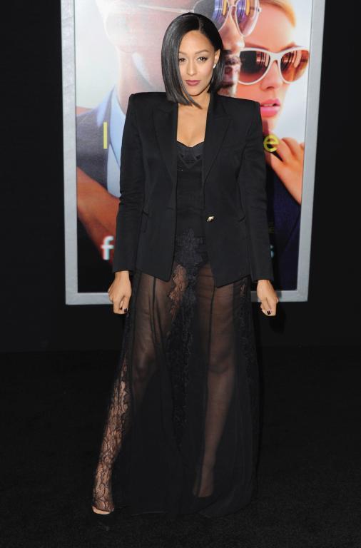 Tia Mowry at Premiere of Focus