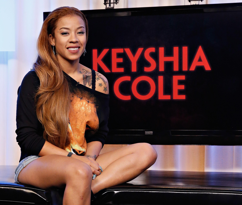 Keyshia Cole Visits Music Choice's 'You & A'