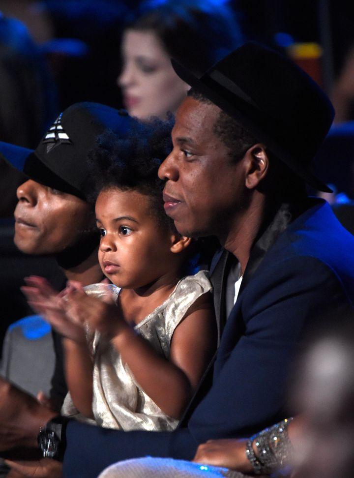 Blue Ivy & Daddy Jay