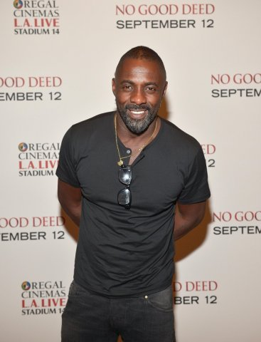 Idris Elba And Taraji P.Henson At The LA Special Screening Of Screen Gems' 'No Good Deed'