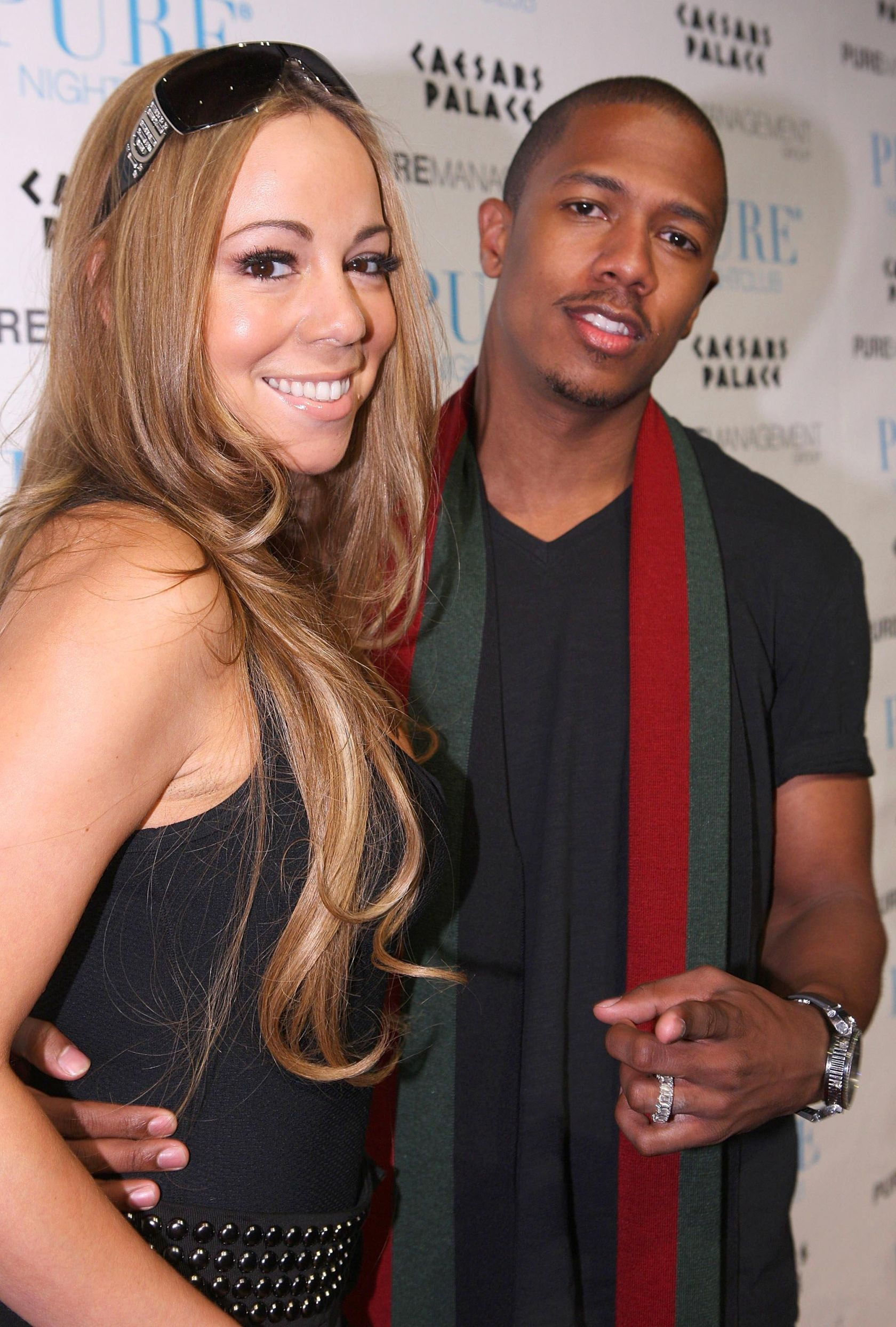 Mariah Carey Hosts Nick Cannon's Birthday Party at PURE Nightclub