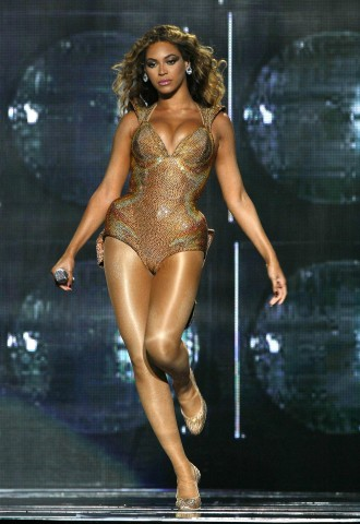 Beyonce in Concert on the opening night of her 2009 U.S. Tour