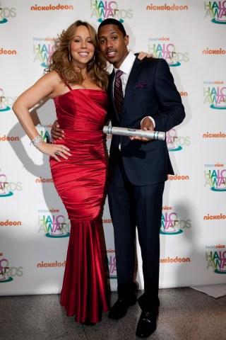 Nick Cannon & Mariah Carey Host TeenNick Halo Awards Screening - Arrivals