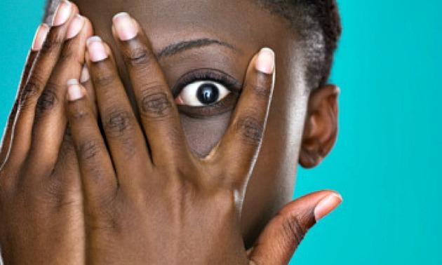 blackwoman-shy