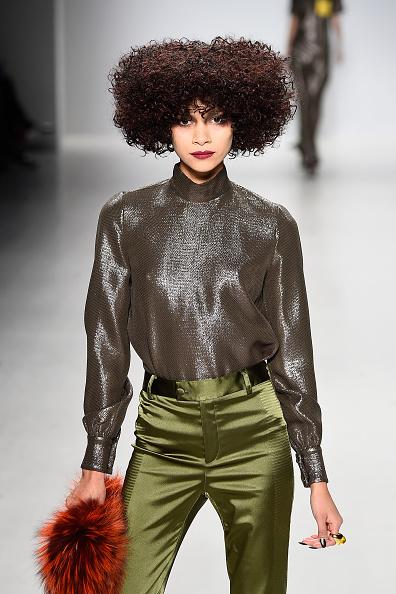 Georgine - Runway - Mercedes-Benz Fashion Week Fall 2015