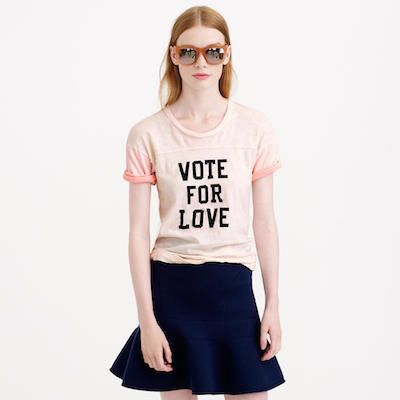 Vote For Love Tee