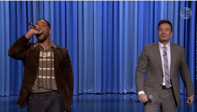 Will Smith & Jimmy Fallon
