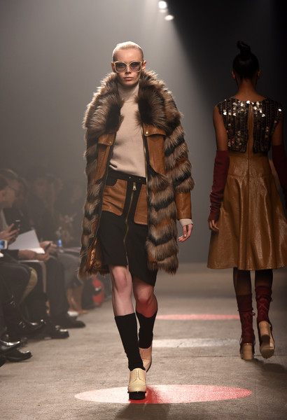 1. Tracy Reese Fall 2015 Runway Show