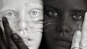 Black & White Twins