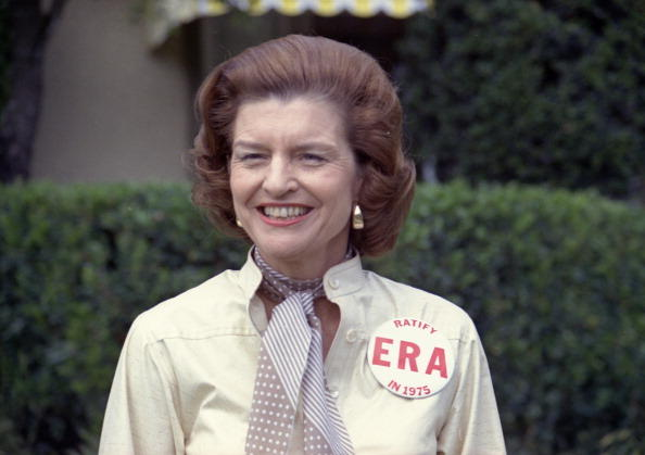 Betty Ford (Elizabeth Ann Bloomer)-Married To Gerald Ford, Was The First Lady From 1974-1977