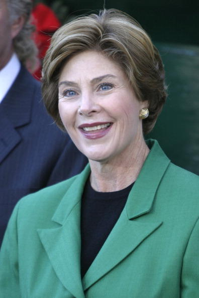 Laura Bush (born Lane Welch)-Married To George W. Bush, The First Lady From 2001-2009