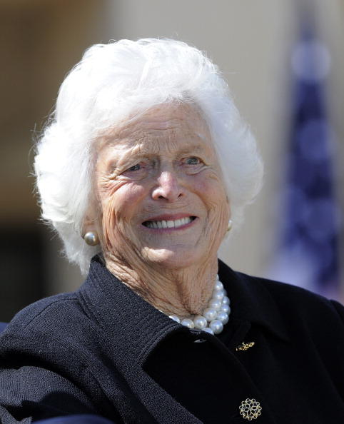 Barbara Bush (born Barbara Pierce)-Married To George Bush Sr., The First Lady From 1989-1993