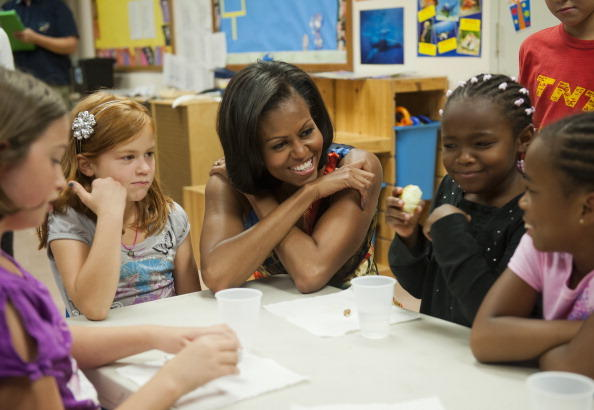 Michelle Obama (born LaVaughn Robinson)-Married To Barack Obama, The First Lady From 2009-present