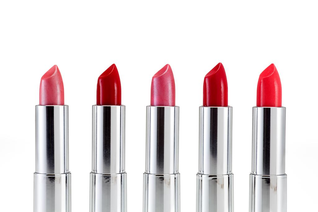tubes of lipsticks