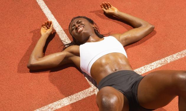Black Woman Tired