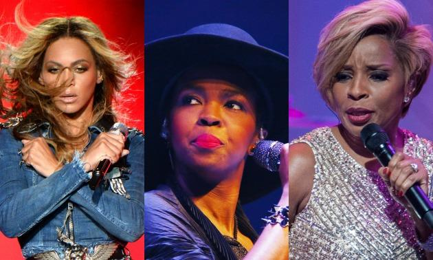 Beyonce, Lauryn Hill, Mary J. Blige