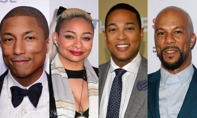 Pharrell, Raven, Don, Common