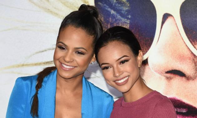 Christina Milian and Karrueche Tran