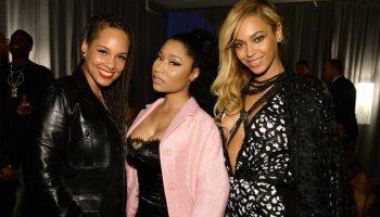 Alicia Keys, Nicki Minaj & Beyonce