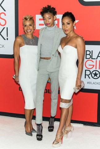 Jada Pinkett Smith & Family at Black Girls Rock