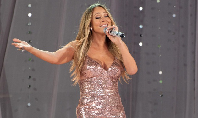 Mariah Carey Performs On ABC's 'Good Morning America'