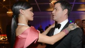 Rihanna & Jimmy Kimmel