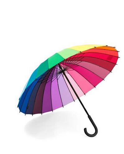 Color Wheel Umbrella