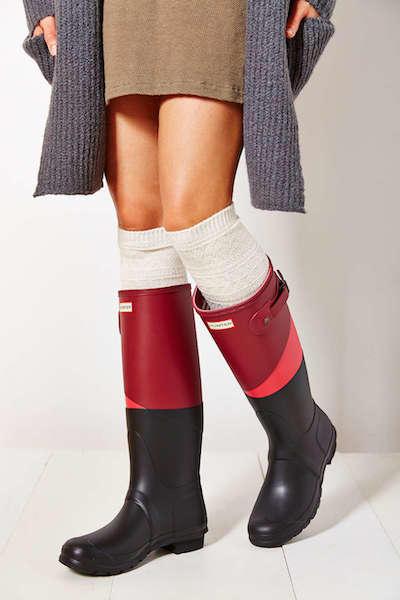 Colorblock Rain Boots