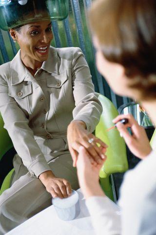 Woman Manicure