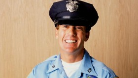 White Cop Smiling