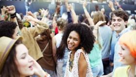 Women at Music Festival