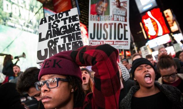 #BlackLivesMatter Protests In New York