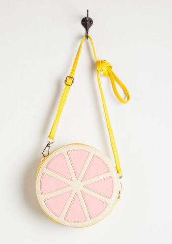 Grapefruit Crossbody Bag