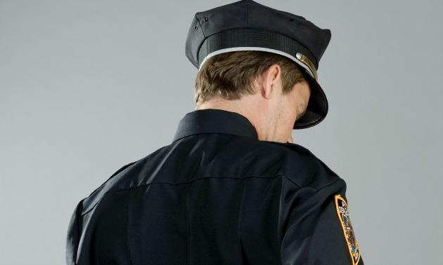 White Cop From The Back