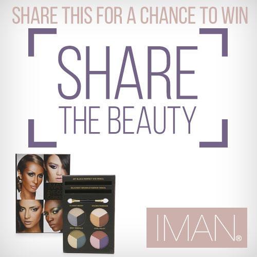 Iman Share the Beauty