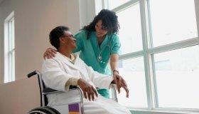Nurse & patient
