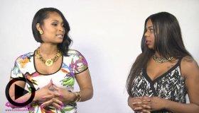 Shamika Sanders and Tiffany Fox
