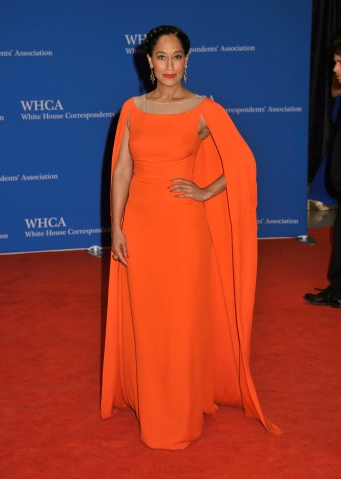 Tracee Ellis Ross at the 2015 White House Correspondent's Dinner