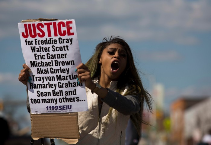 Baltimore Residents Attend Wake for Freddie Gray