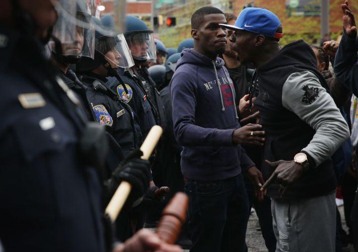 Black Men Vs. The Police