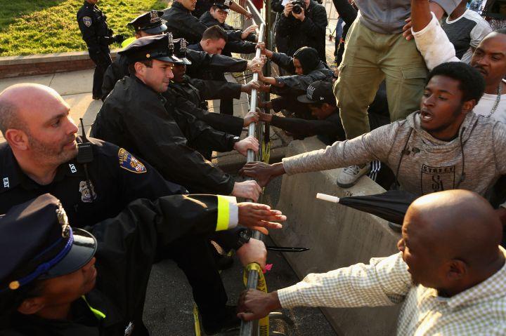 Baltimore Police Dept. Vs. Residents