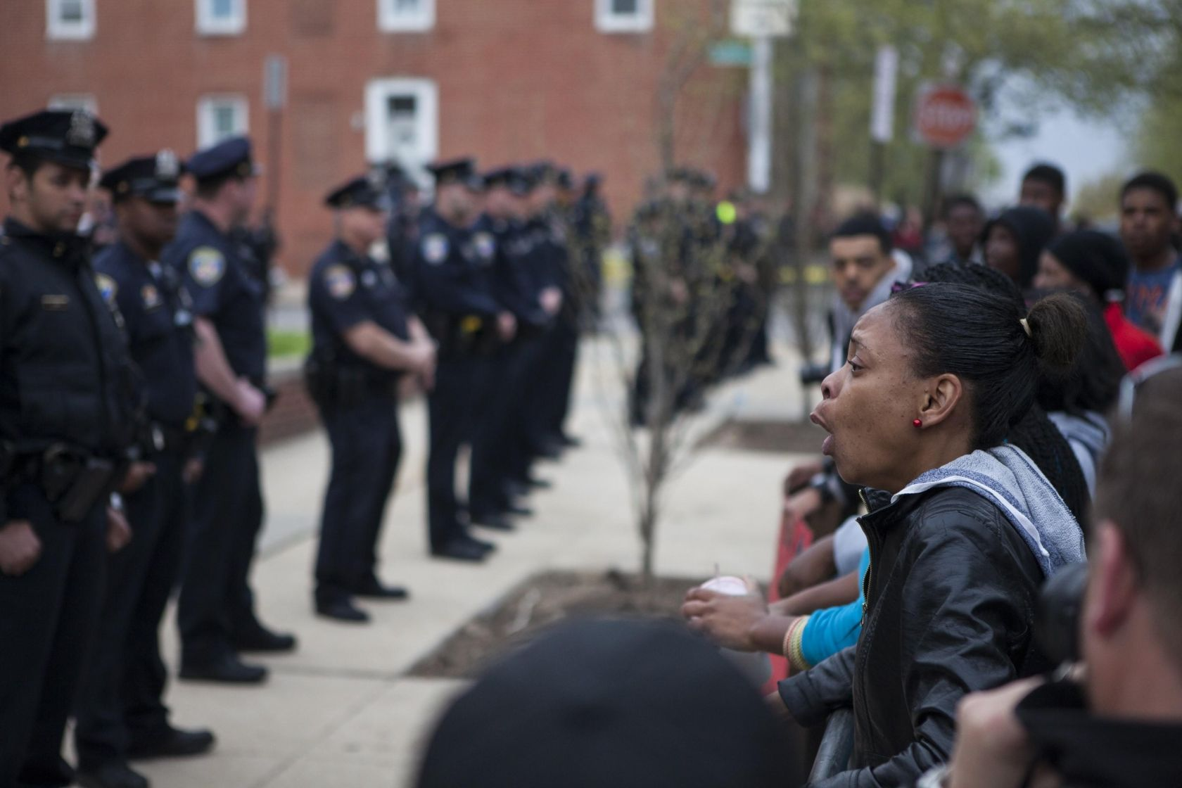 Freddie Gray Protest in Baltimore