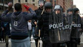 Baltimore Hands Up